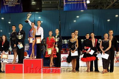 Финалисты Чемпионата Москвы по 10 танцам - 2010