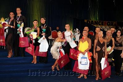 Финалисты IDSF International Open Latin, Кубок Русского Клуба-2010