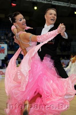 Сергей Коновальцев - Ольга Коновальцева, Чемпионат Европы по Стандарту-2010