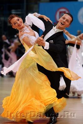 Николай Дарин - Екатерина Федоткина, Чемпионат Европы по Стандарту-2010