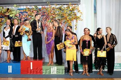 Финалисты IDSF Open Latin, Москвич-2010