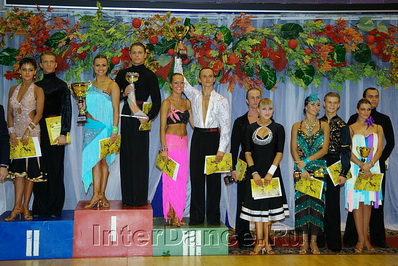 финалисты WDSF International Open Latin, Москвич-2011