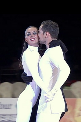 Владимир Карпов и Мария Тзапташвилли, worlddancesport.org