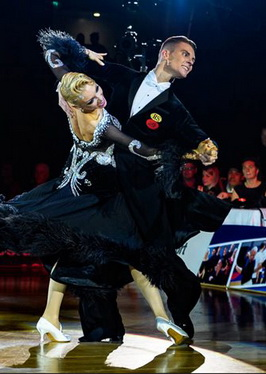 Дмитрий Жарков и Ольга Куликова, photo:worlddancesport.org